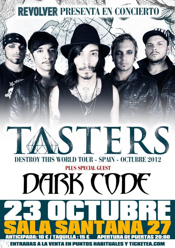 Tasters + Dark Code