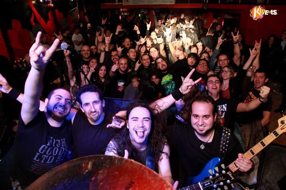 In Vain en Madrid 12Ene12