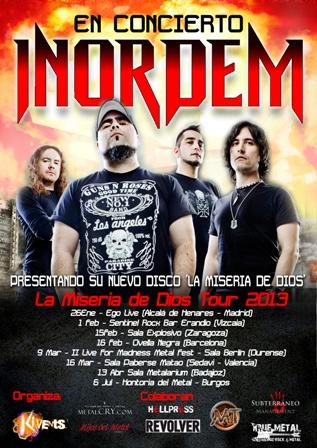 """Inordem: """"La Miseria de Dios Tour 2013"""""""