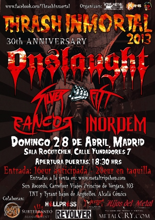Thrash Inmortal Madrid