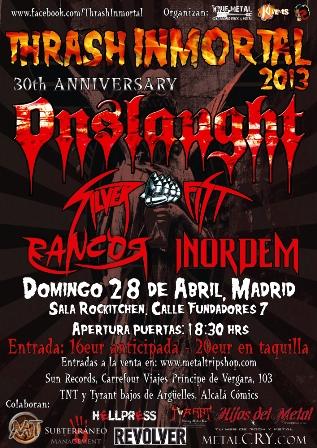 Thrash Inmortal Madrid