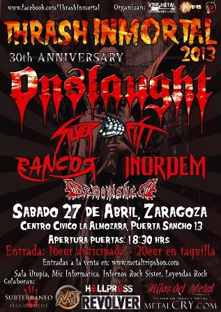 Thrash Inmortal Zaragoza