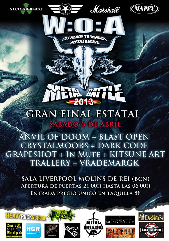 WOA Metal Battle