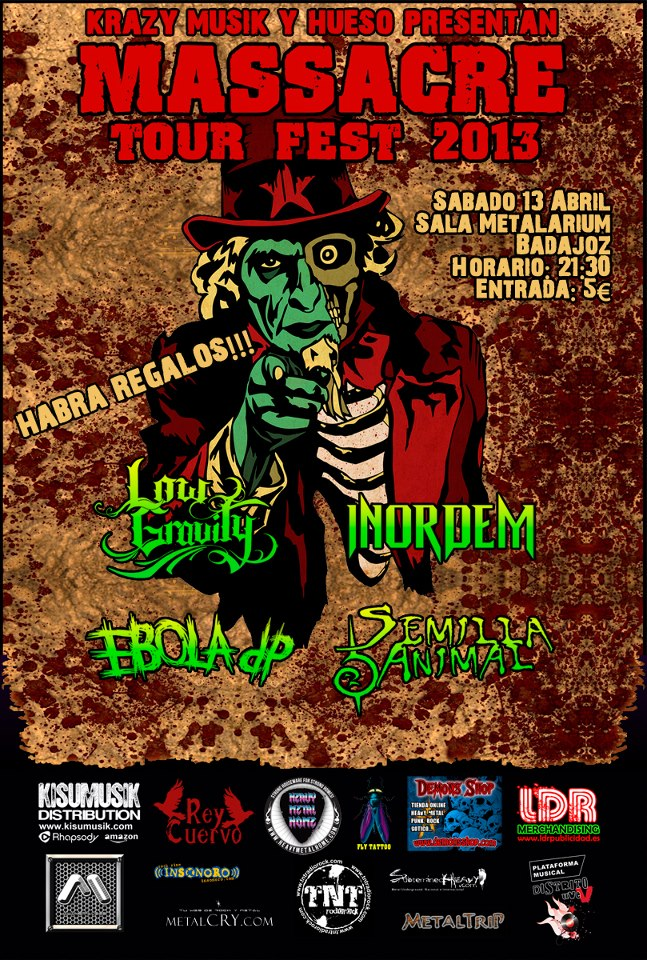 Massacre Tour Badajoz