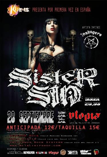 Sister Sin Zaragoza