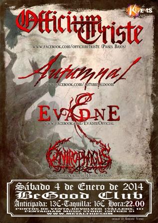 Officium Triste en Barcelona