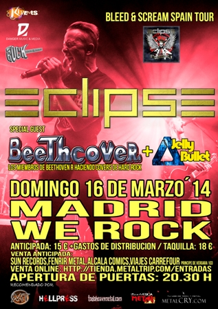Eclipse en Madrid