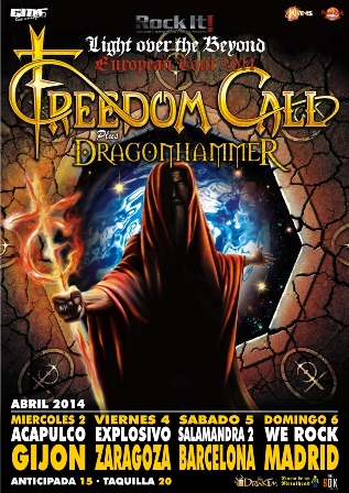 Freedom Call Tour
