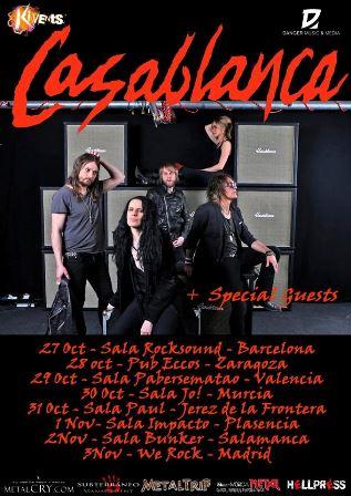 Tour de Casablanca en España