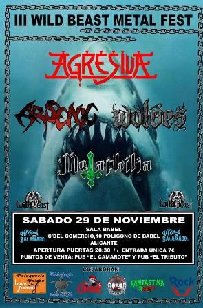 Agresiva - III Wild Beast Metal Fest