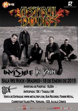 Astral Doors Madrid