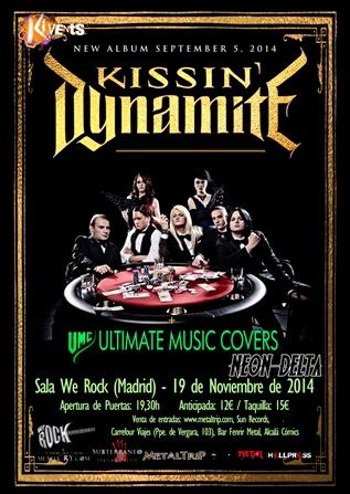 Kissin' Dynamite en Madrid