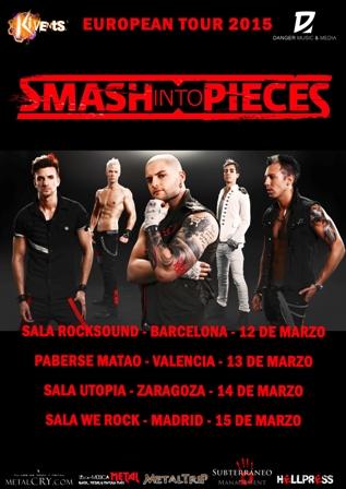 Tour de Smash Into Pieces