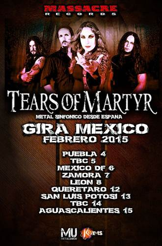 Tears of Martyr en Mexico