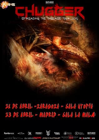 Chugger en Zaragoza y Madrid