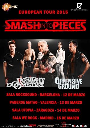 Smash Into Pieces Tour