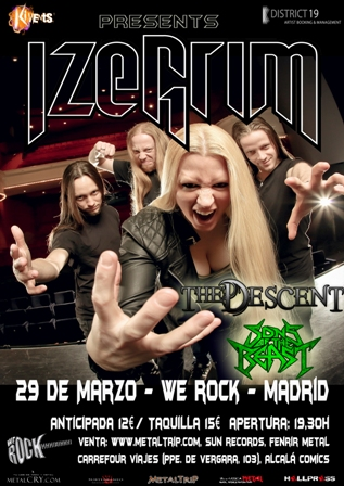 Izegrim en Madrid