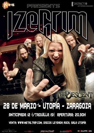 Izegrim en Zaragoza