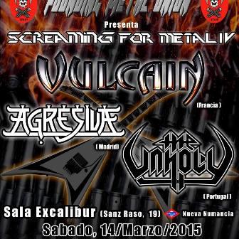 Screaming For Metal