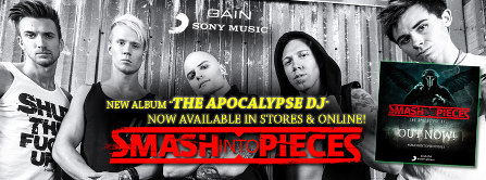 Smash Into Pieces - Presentación The Apocalypse Dj