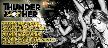 Thundermother Tour en España