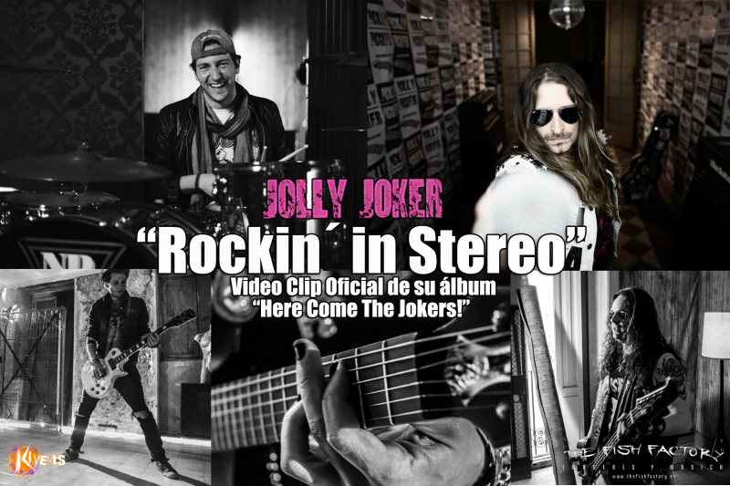 "Jolly Joker: ""Rockin´ in Stereo"" primer video y presentación en Valencia"