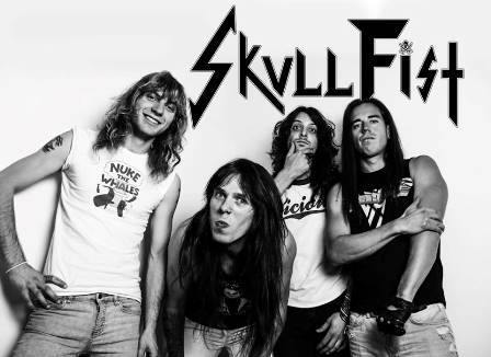 Skull Fist, Evil Invaders y Leather Heart en Valencia y Madrid