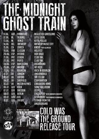 The Midnight Ghost Train en Europa