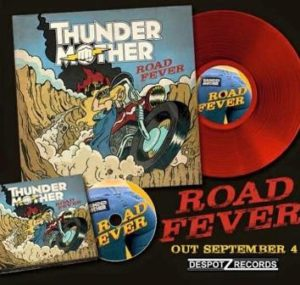"Thundermother lanzan su segundo álbum ""Road Fever"""