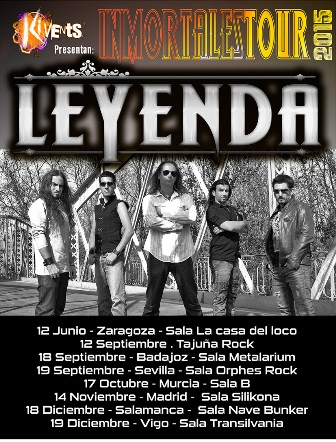 LEYENDA - Inmortales Tour 2015