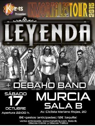 LEYENDA - Murcia