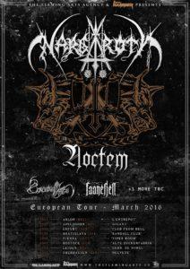 Gira europea de Noctem junto a Nargaroth