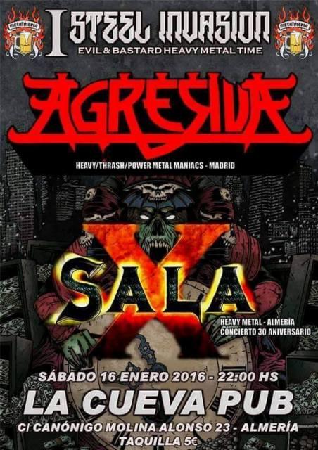 Agresiva en el I Steel Invasion de Almería