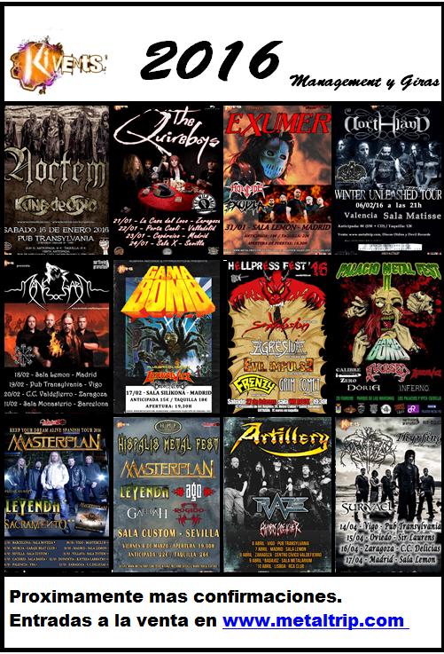 Conciertos 2016 promo