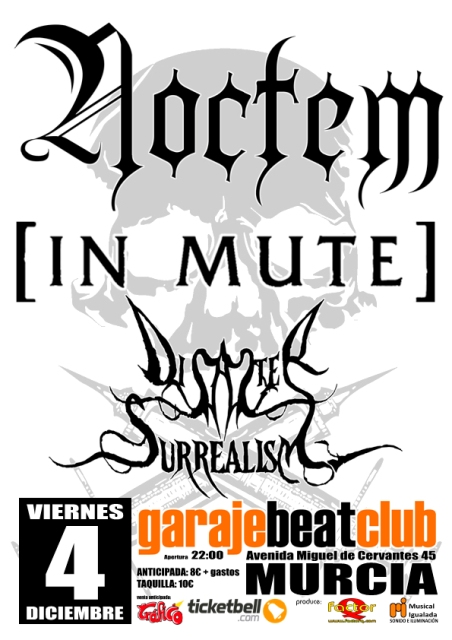 Noctem en Murcia con [In Mute] y Disaster Surrealism