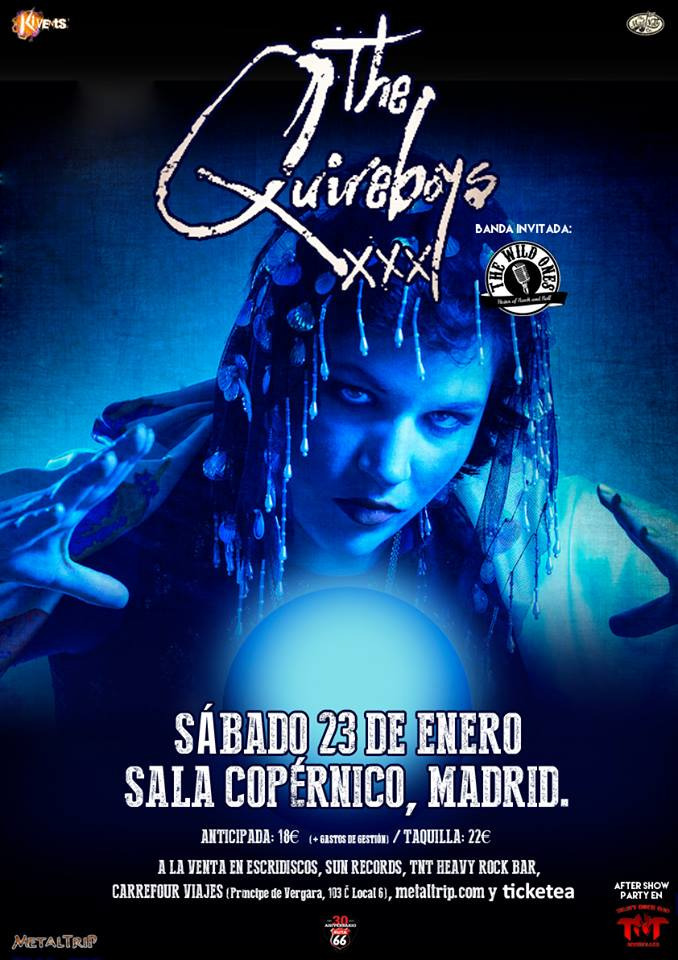 The Quireboys Madrid