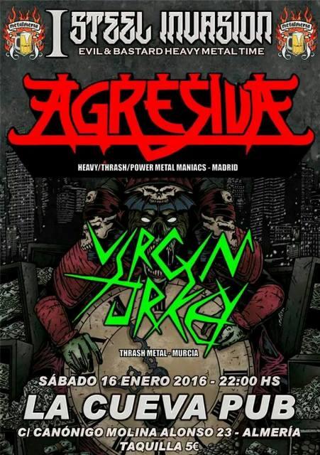 Agresiva en Almeria