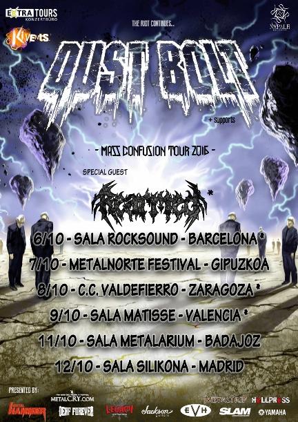 Dust Bolt Tour