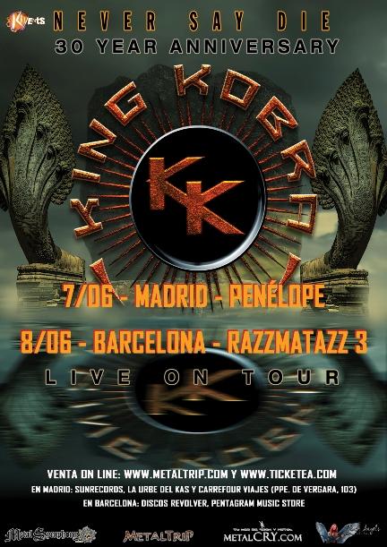 King Kobra: bandas invitadas