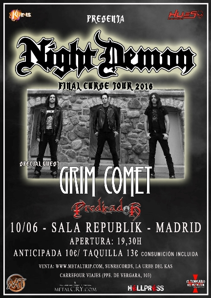 Night Demon Mad peq
