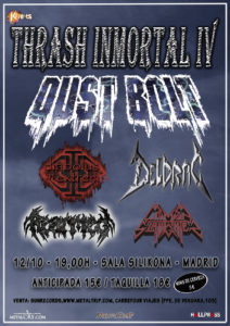 Thrashinmortal IV: 12 de Octubre Madrid