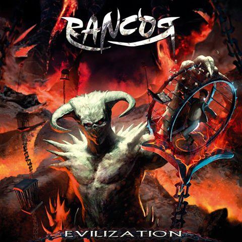 Rancor nos presentan la portada del que será su tercer álbum: Evilization