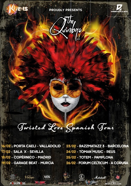 The Quireboys - Twisted Love Spanish Tour 2017