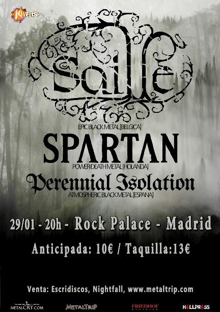 Saille en Madrid el 29 de enero