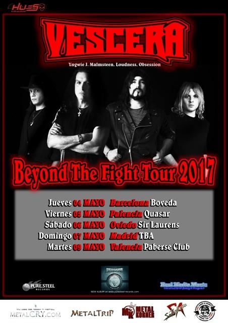 Vescera Spanish Tour