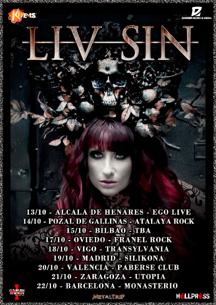 Liv Sin - Spanish Tour 2017
