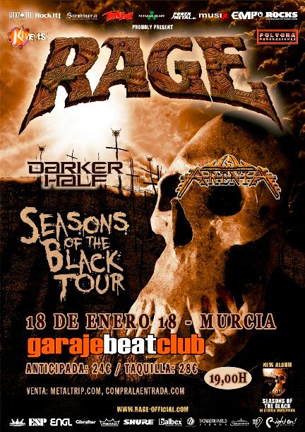 Rage en Garaje Beat Club (Murcia)