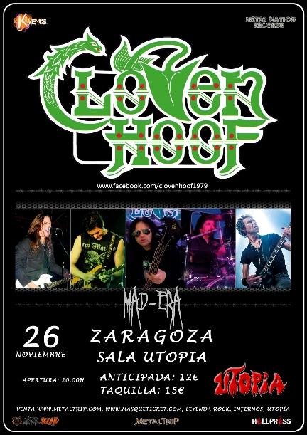 MAD-ERA en Zaragoza con Cloven Hoof
