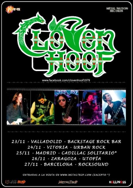 Cloven Hoof Spanish Tour