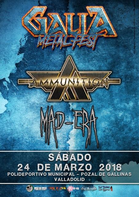 Galia Metal Fest 2018 - Ammunition y Mad-Era